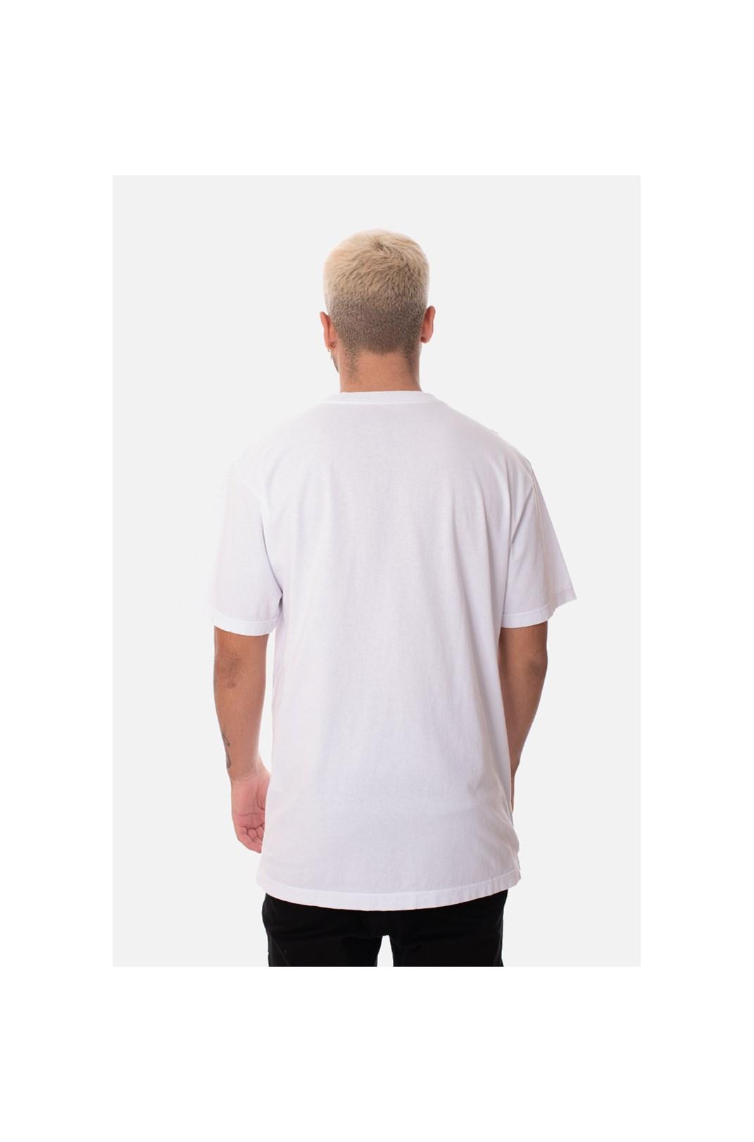 Camiseta Regular Approve Bear Branca
