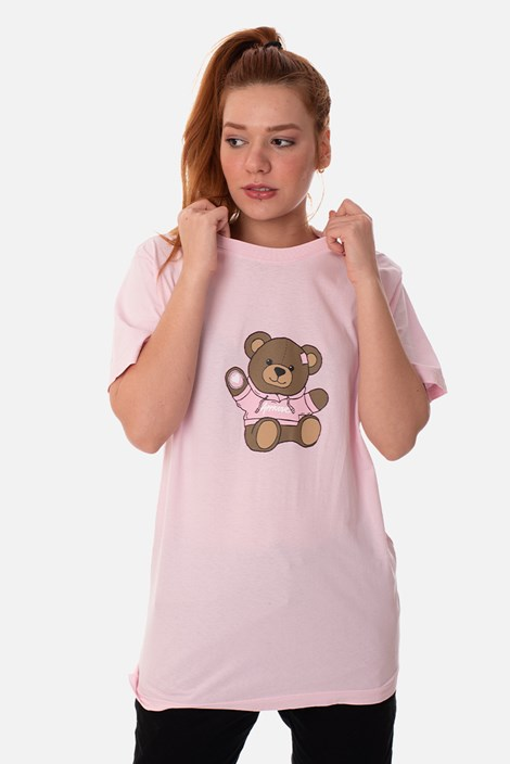 Camiseta Regular Approve Bear by Picon Rosa