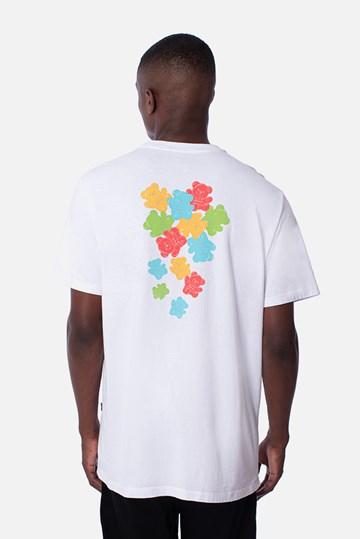 Camiseta Regular Approve Bear Gummy Branca