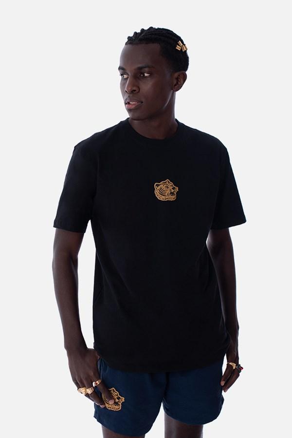 Camiseta Regular Approve Boxing Club Tiger Preta