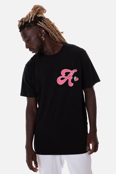 Camiseta Regular Approve Broken Heart Preta