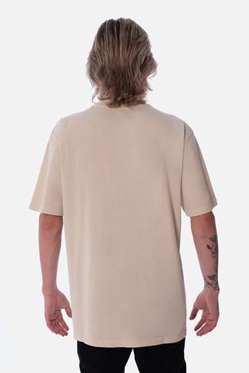 Camiseta Regular Approve Canvas Bege