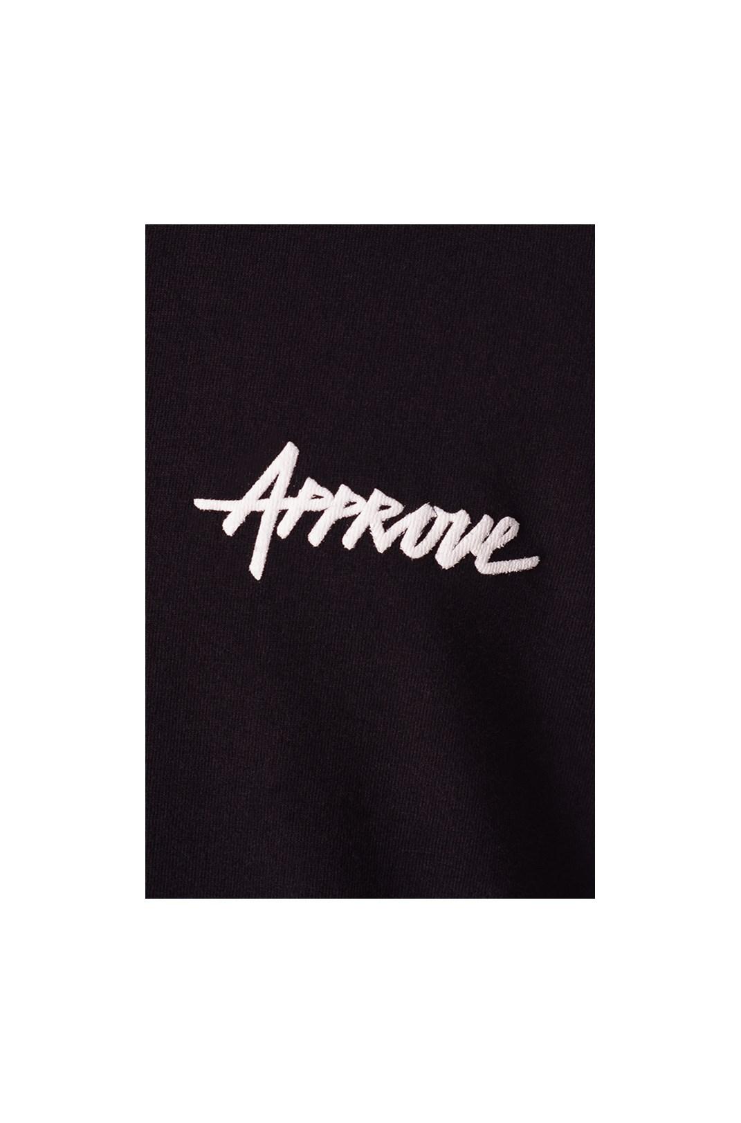 Camiseta Regular Approve Classic Logo Preta