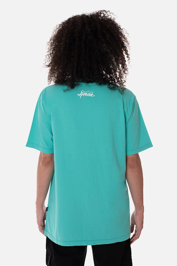 Camiseta Regular Approve Flames by Picon Turquesa