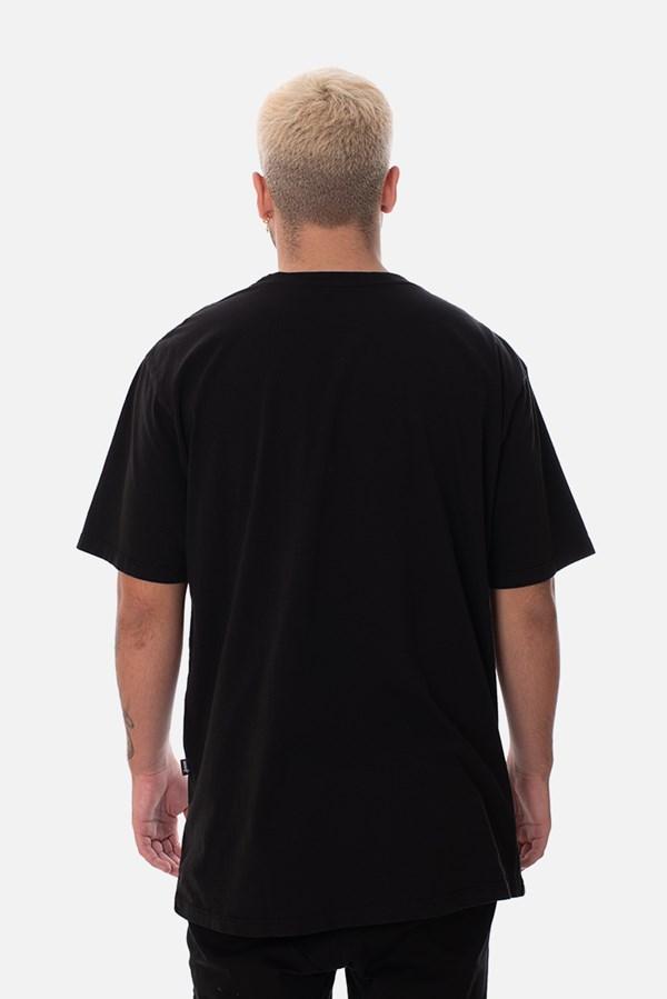 Camiseta Regular Approve Globe Preta