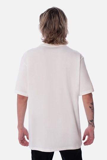 Camiseta Regular Approve Heart Basic Off White