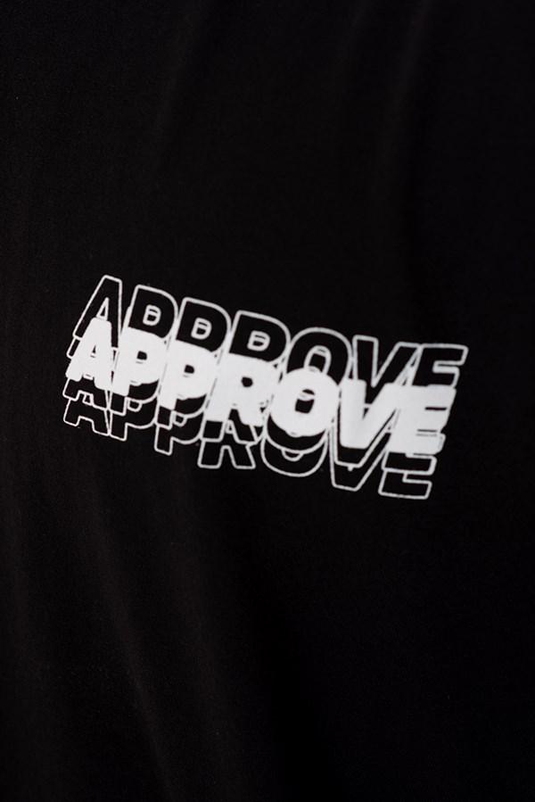 Camiseta Regular Approve Liquid Preta