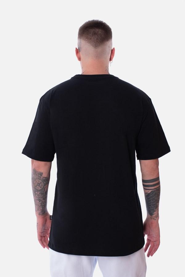 Camiseta Regular Approve Lp Heart Basic Preta