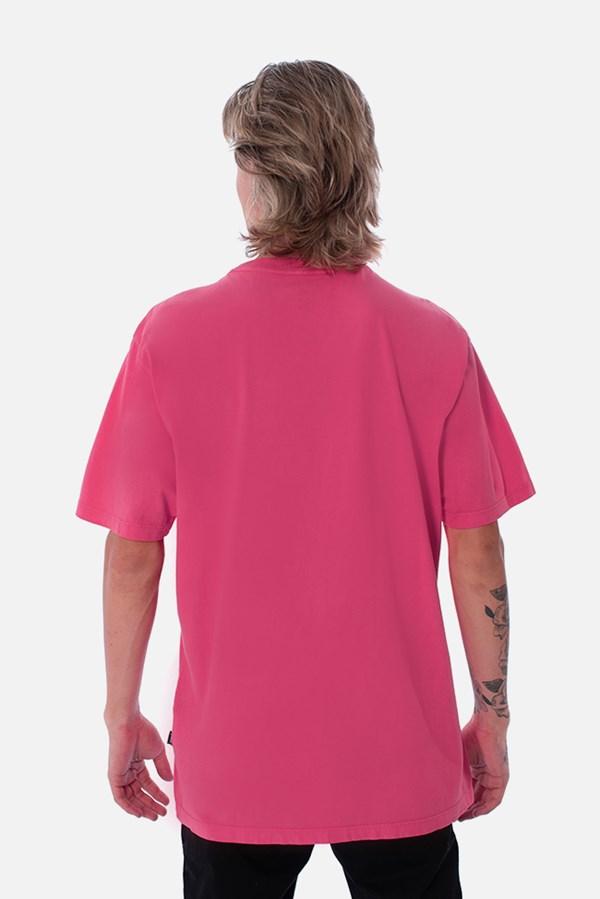 Camiseta Regular Approve Lp Heart Basic Rosa