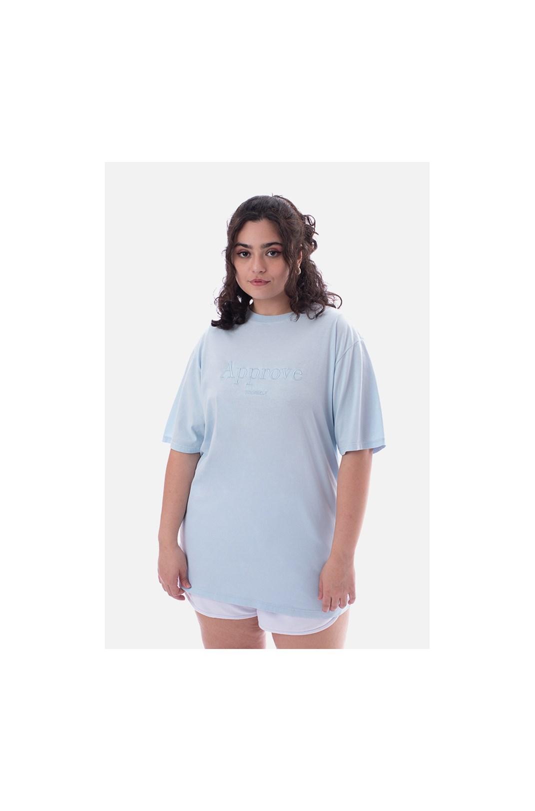 Camiseta Regular Approve Mirage Azul