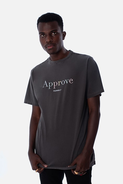 Camiseta Regular Approve Mirage Cinza Color