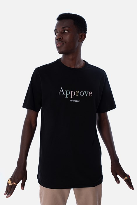 Camiseta Regular Approve Mirage Preta