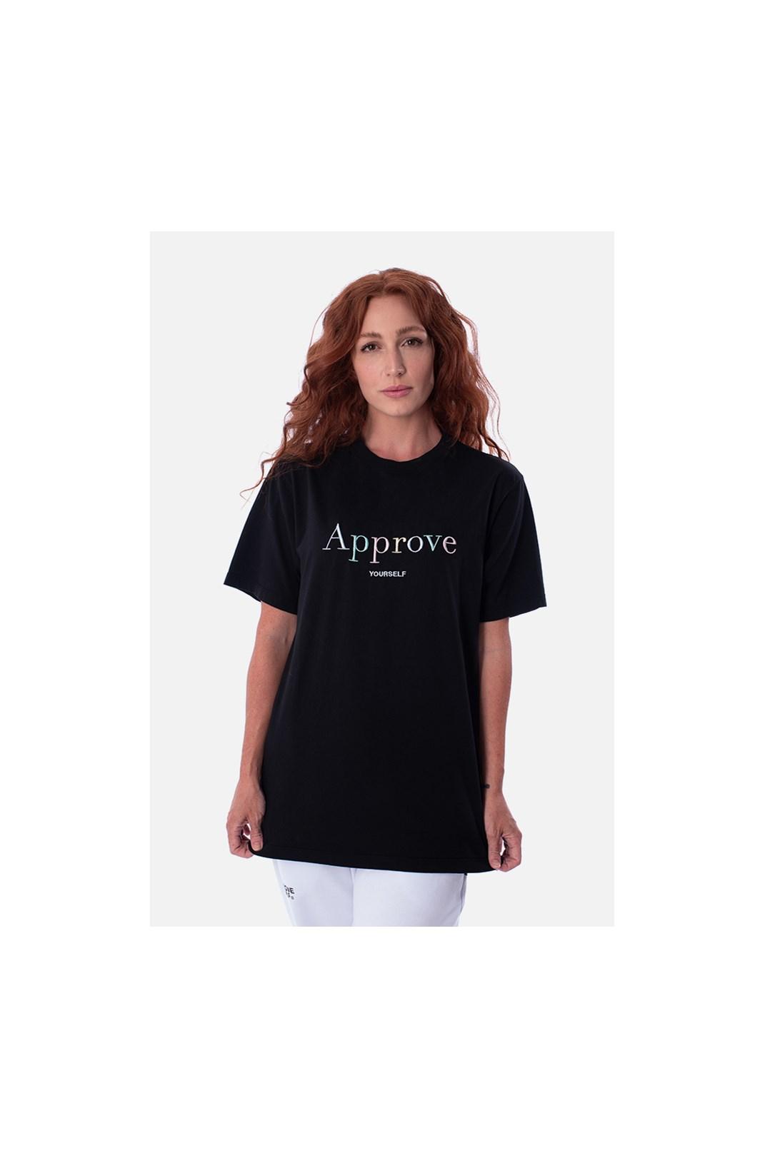 Camiseta Regular Approve Mirage Preta