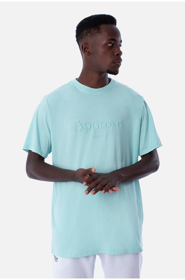 Camiseta Regular Approve Mirage Verde Água