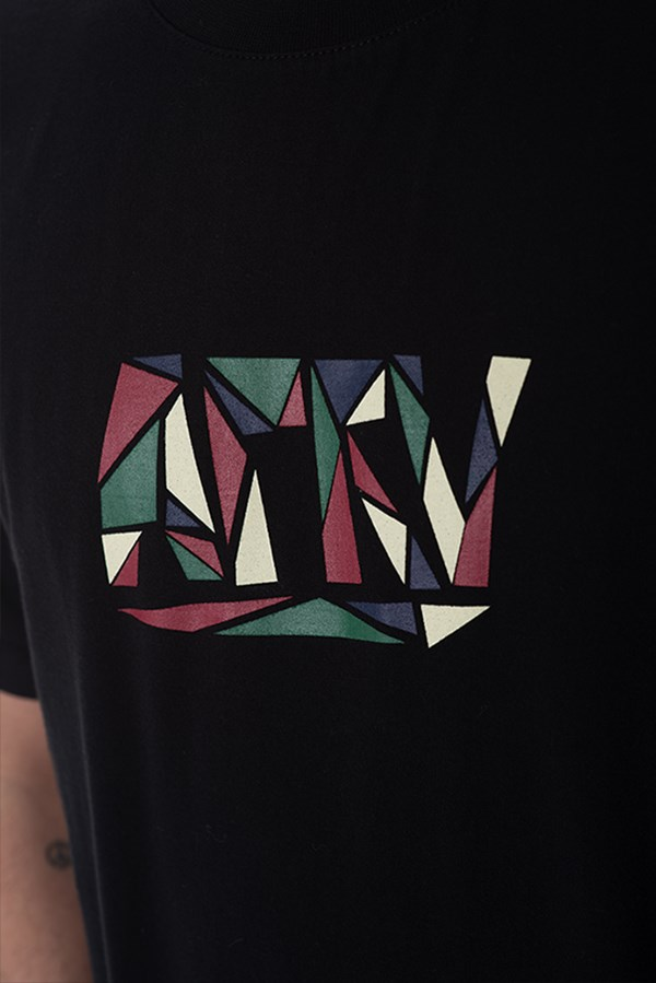 Camiseta Regular Approve Mosaico Preta