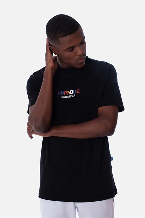 Camiseta Regular Approve Pixels&Pills Preta