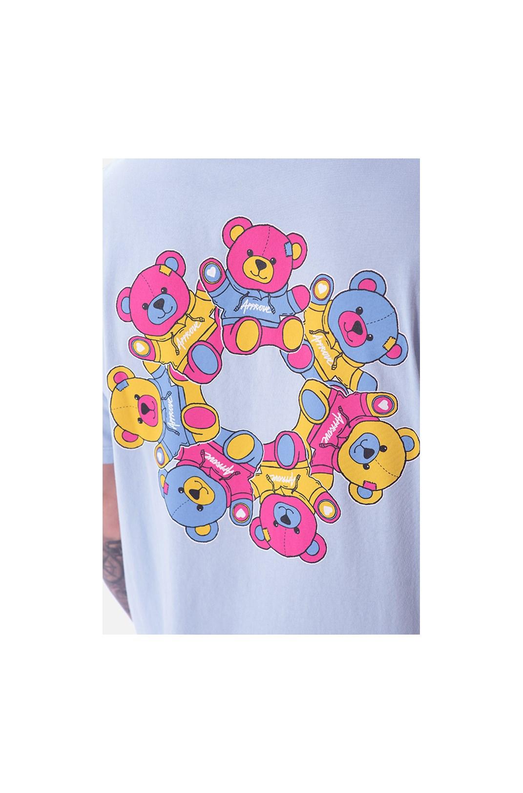 Camiseta Regular Approve Psychedelic Azul