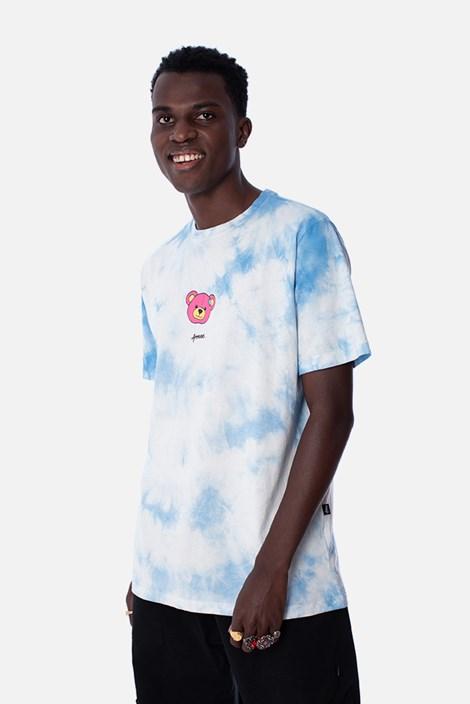 Camiseta Regular Approve Psychedelic Tie Dye Azul