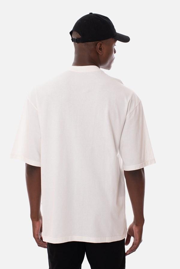 Camiseta Regular Approve Rainbow Off White