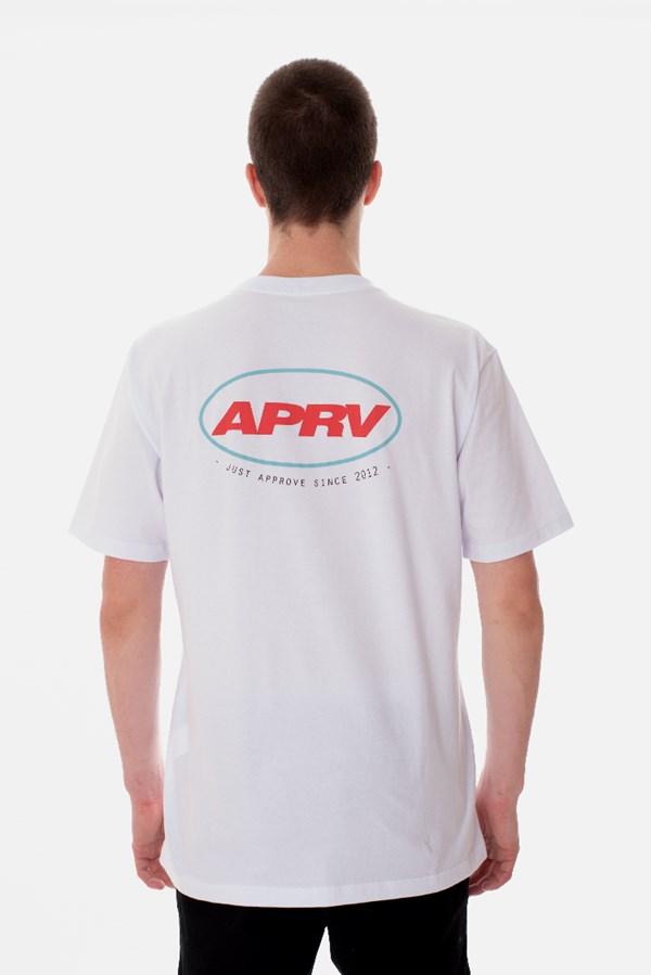 Camiseta Regular Approve Road Branca