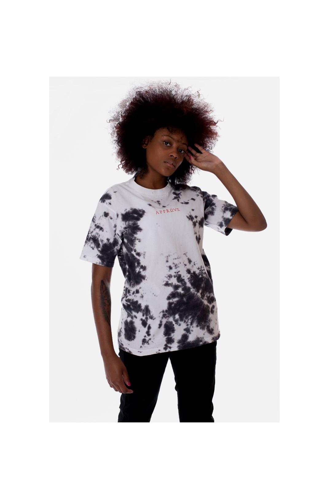 Camiseta Regular Approve Ruínas Mármore Branca