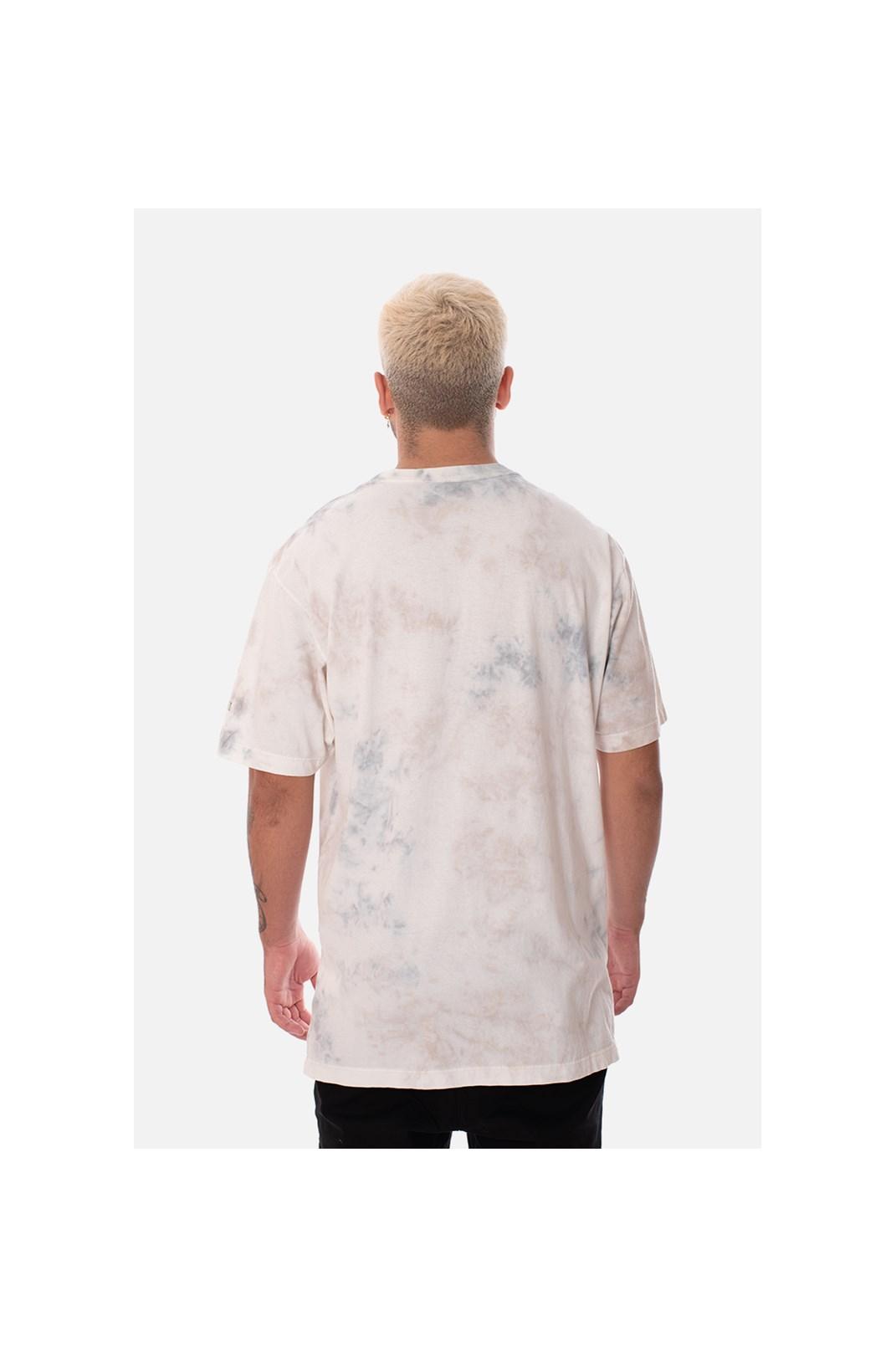 Camiseta Regular Approve Ruínas Medusa Branca Marmorizada