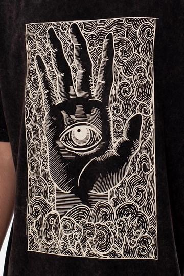 Camiseta Regular Approve Ruínas Mystic Cinza Marmorizada