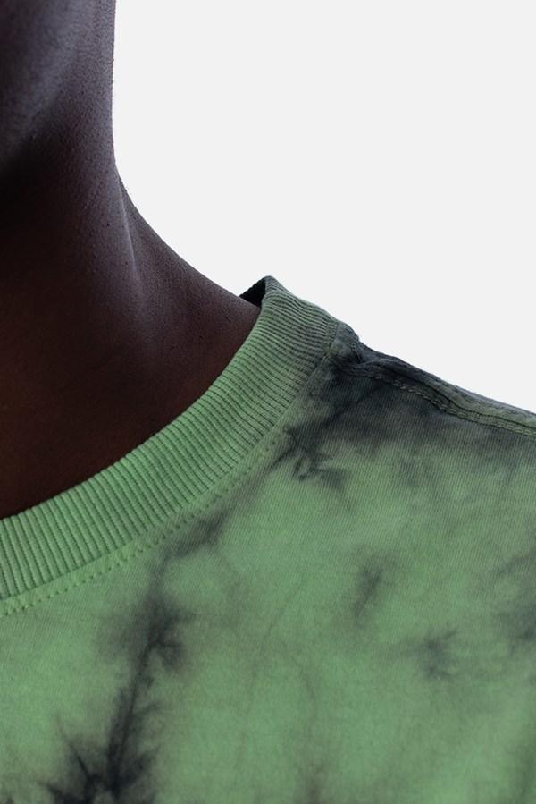Camiseta Regular Approve Tie Dye Acid Verde