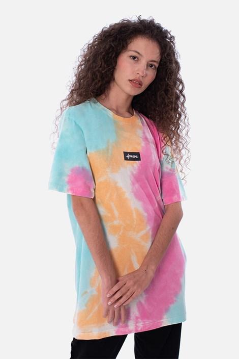 Camiseta Regular Approve Tie Dye Colorful