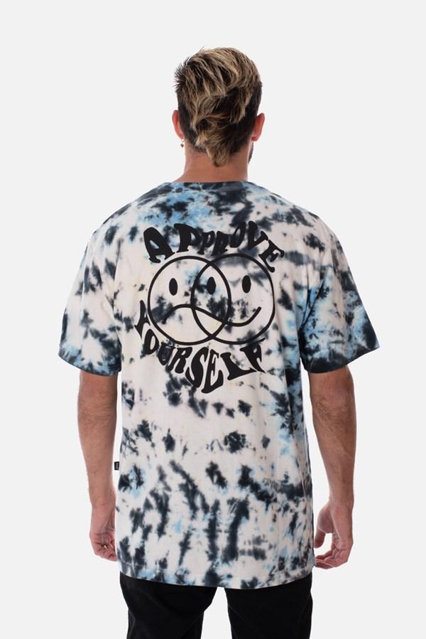 Camiseta Regular Approve Tie Dye Negativo