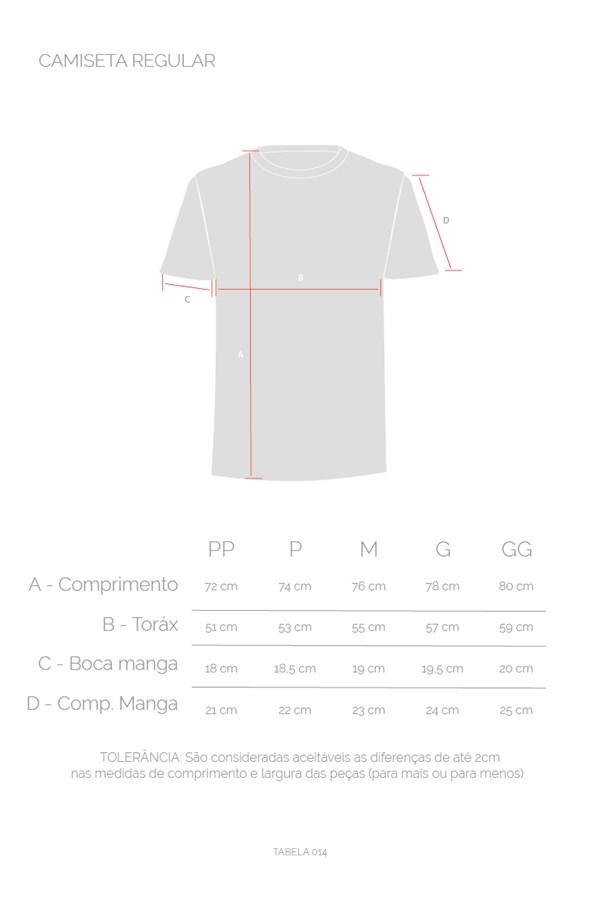 Camiseta Regular Approve Upsidedown Rose Branca