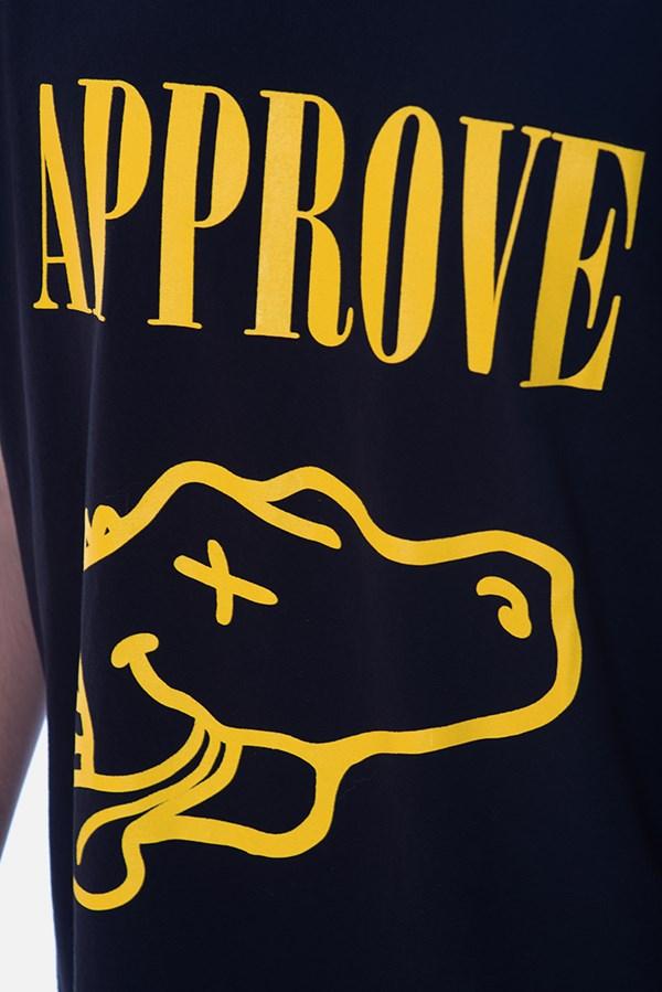 Camiseta Regular II Approve Nirvana Preta