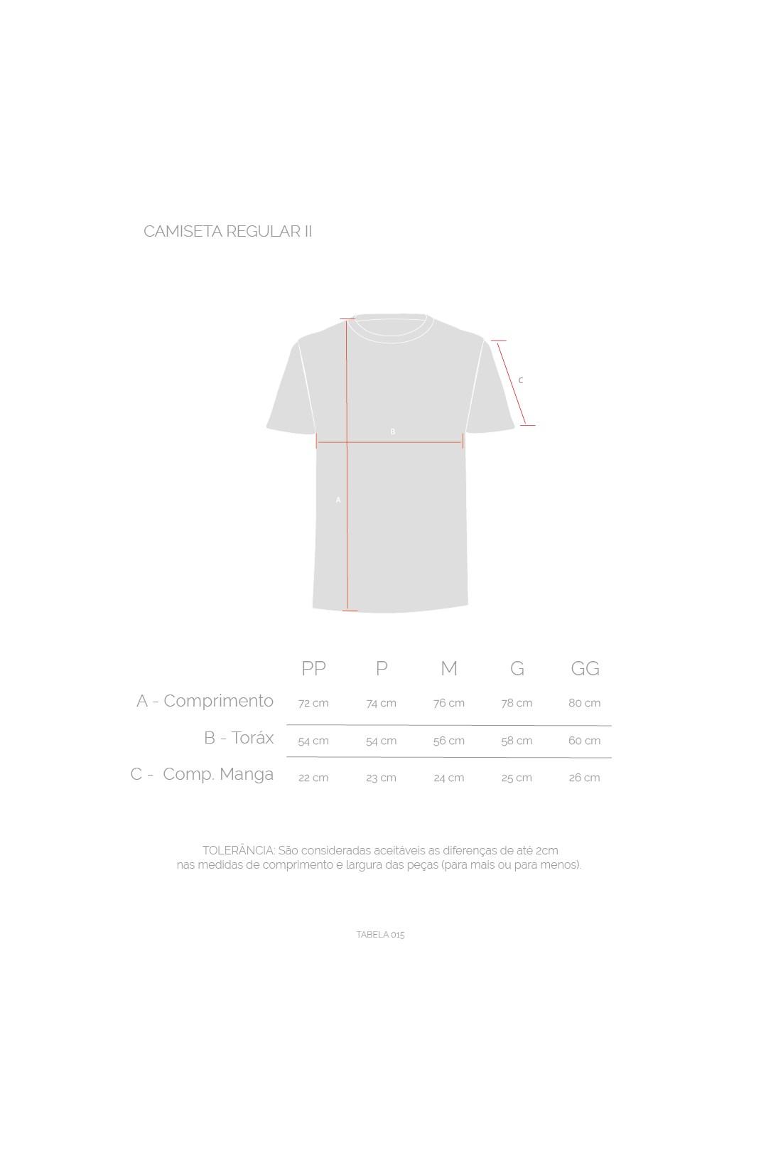 Camiseta Regular II Approve Ramones Cinza Estonada