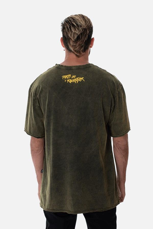 Camiseta Regular II Approve Rockstar Led Zeppelin Sky