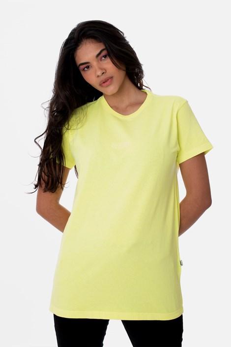 Camiseta Slim Approve Amarelo Neon