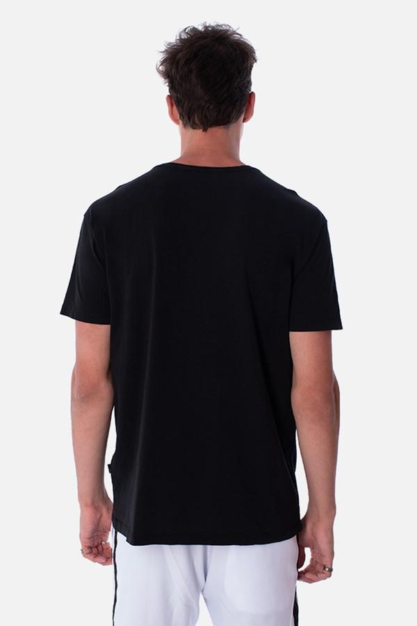 Camiseta Slim Approve Bear by Picon Preta