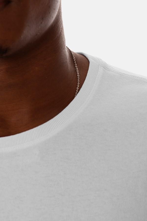 Camiseta Slim Approve Classic Branca e Preta