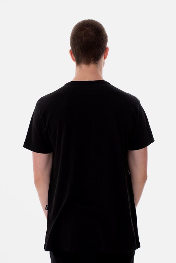 Camiseta Slim Approve Classic Preta e Vermelha