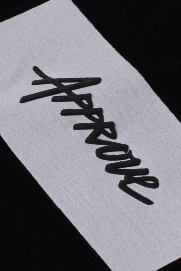 Camiseta Tradicional Approve Classic Preta E Branca V2
