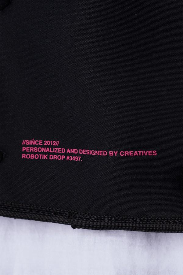 Chest Bag Approve Robotik Preta