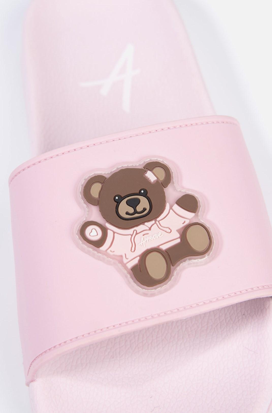 Chinelo Slide Approve Bear Rosa
