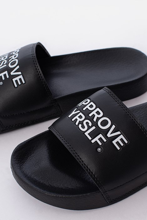Chinelo Slide Approve Yrslf Preto