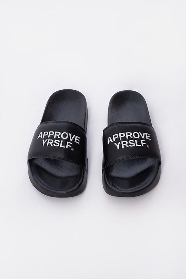 Chinelo Slide Approve Yrslf Preto