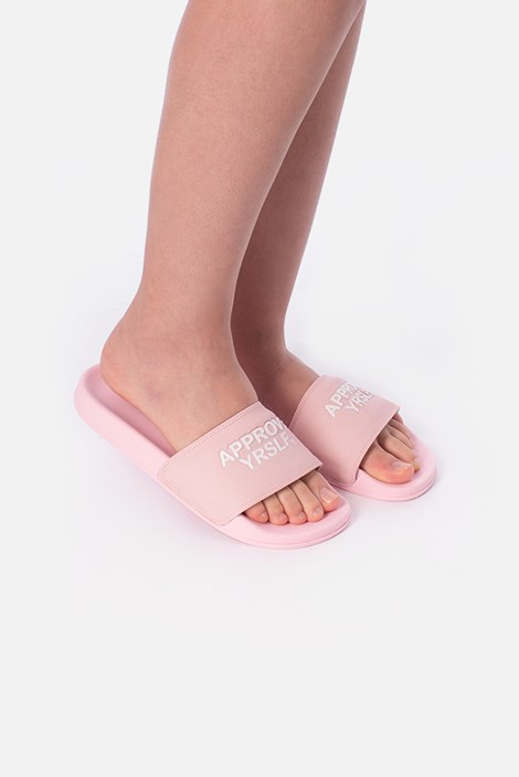 Chinelo Slide Approve Yrslf Rosa