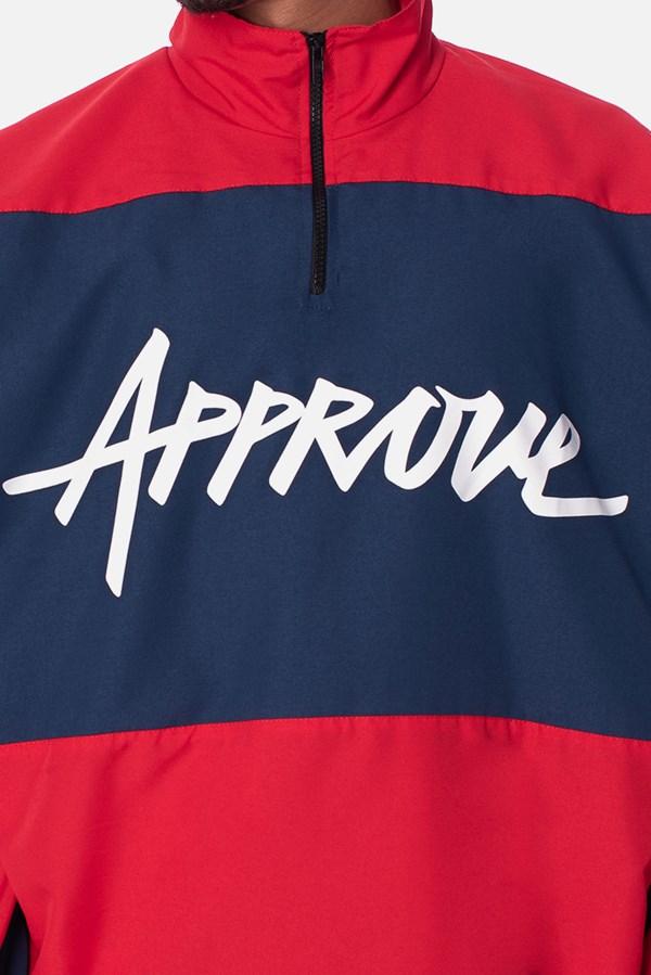 Corta Vento Anorak Approve Big Logo Vermelho e Azul Marinho