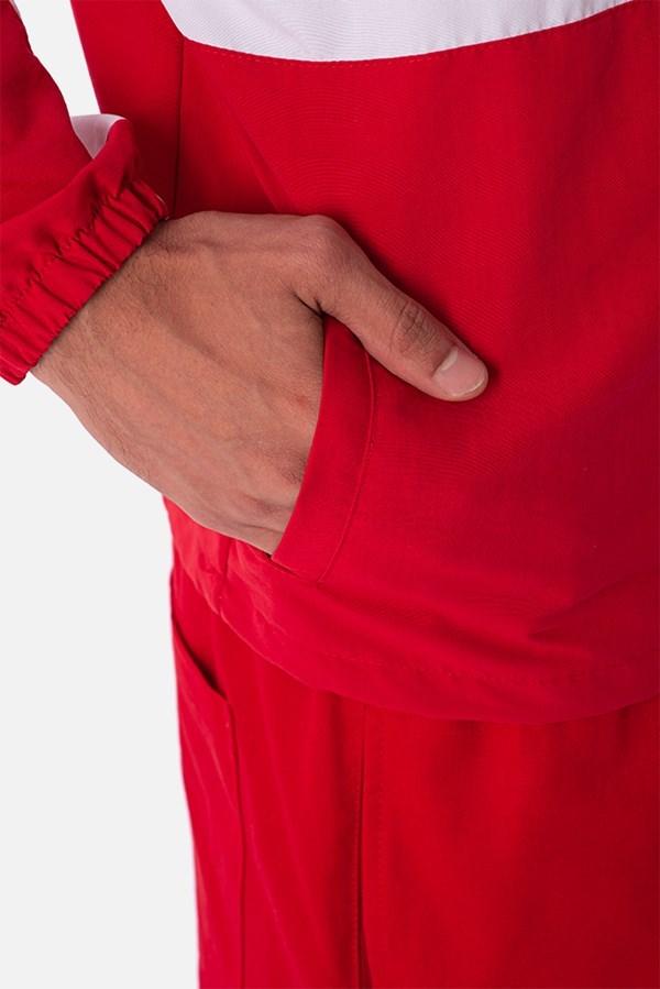 Corta Vento Anorak Approve X Budweiser Vermelho e Branco