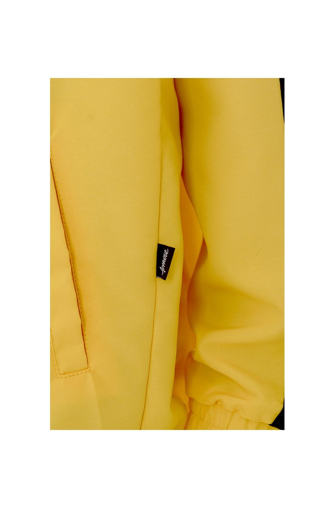 Corta Vento Approve Classic Amarelo e Preto V1