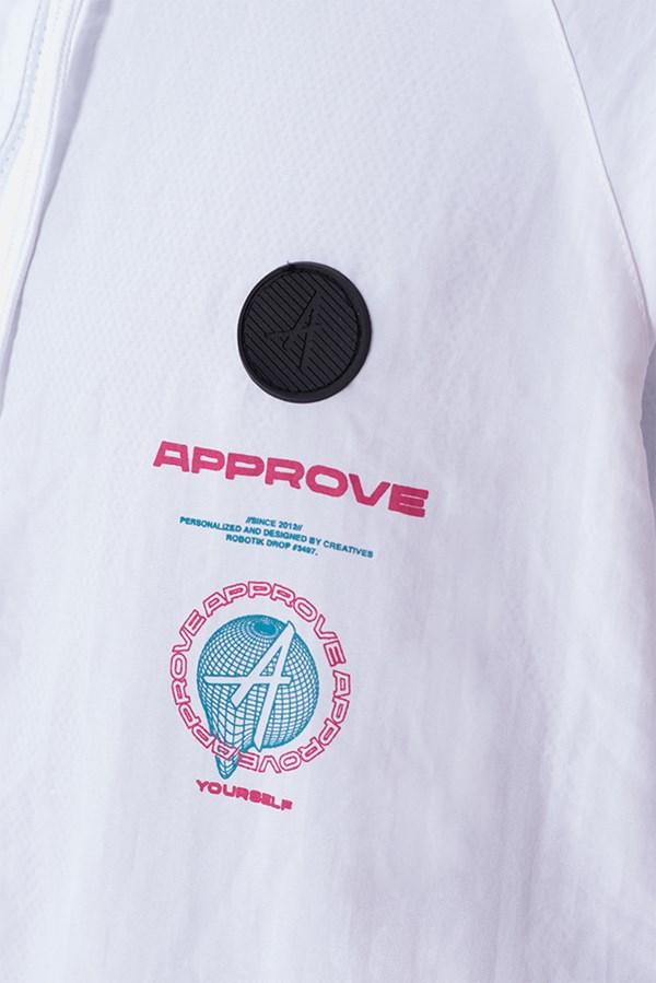 Corta Vento Approve Robotik Branco