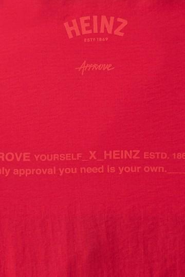 Corta Vento Cropped Approve X Heinz Vermelho