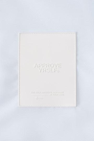 Corta Vento Cropped Approve Yrslf Branco